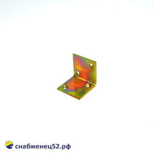 Уголок широкий 40*40*40*2мм (желтопассивированный)