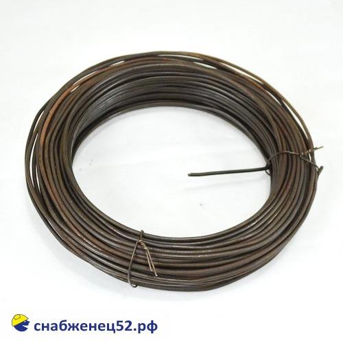 Проволока 4мм (5кг), низкоуглерод. сталь, т/о