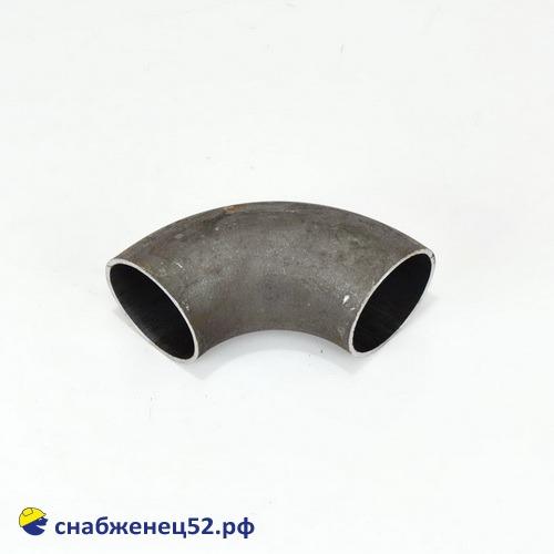 Отвод стальной крутоизогнутый для трубы ЭСВ  76 мм