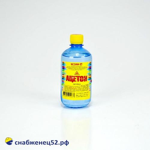 Ацетон  (0,5л)