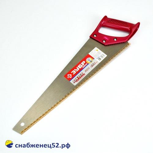 Ножовка по дереву 450мм, средний зуб