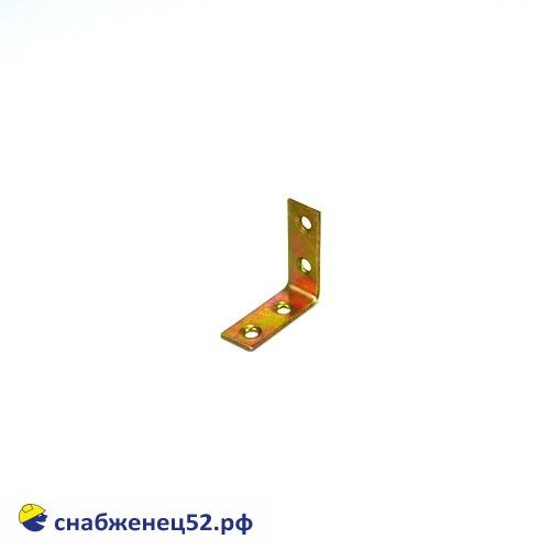 Уголок узкий 40*40*17*2мм (желтопассивированный)