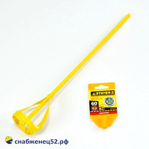 Миксер для красок  60*400 мм (крашенный)