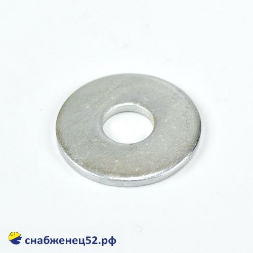 Шайба увеличенная цинк 10мм (DIN 9021Zn)