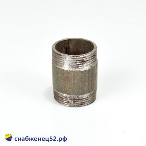 Боченок стальной для трубы ВГП ду 40
