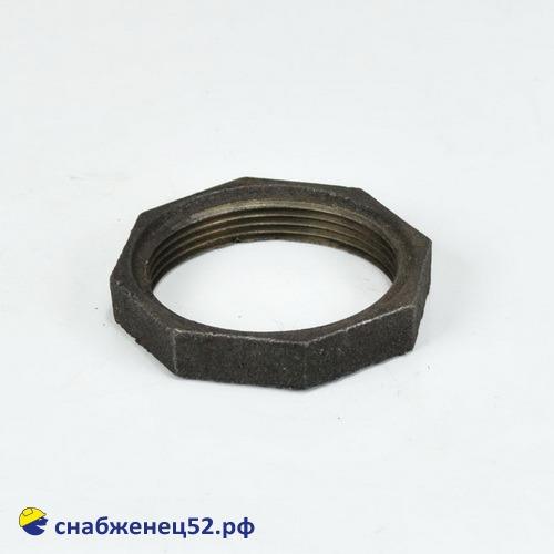 Контргайка чугунная для трубы ВГП ду 50 (ЭСВ 57мм)