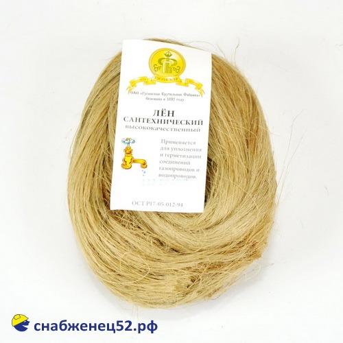 Лен сантехнический (в косах) 100гр.