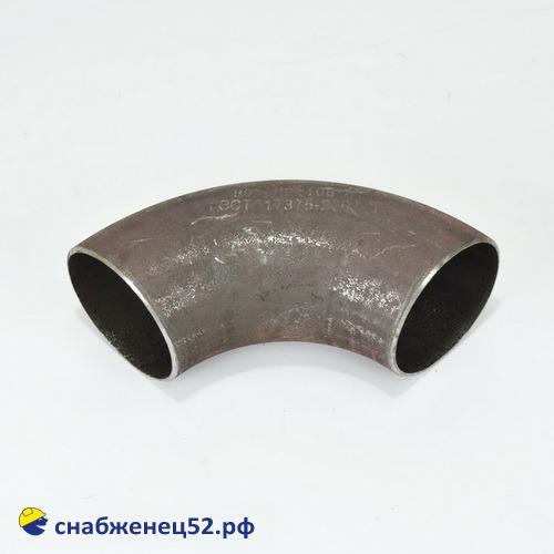 Отвод стальной крутоизогнутый для трубы ЭСВ 108 мм
