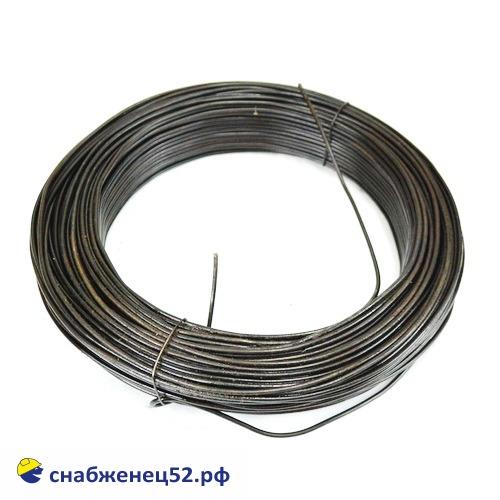 Проволока 3мм (5кг), низкоуглерод. сталь, т/о