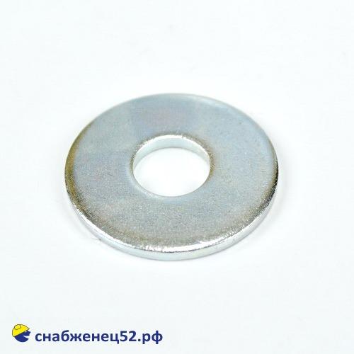 Шайба увеличенная цинк 12мм (DIN 9021Zn)