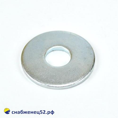 Шайба увеличенная цинк 14мм (DIN 9021Zn)