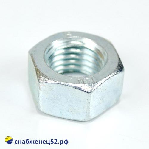 Гайка цинк М16 (DIN 934)