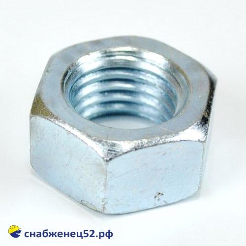 Гайка цинк М20 (DIN 934)
