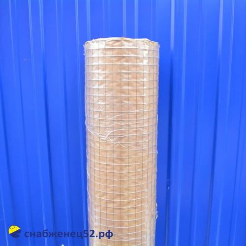 Сетка сварная оцинков. (рул) 20*20*0,8 мм (1*25м)