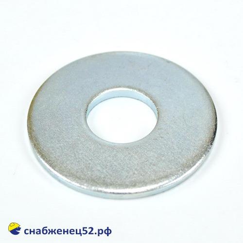 Шайба увеличенная цинк 18мм (DIN 9021Zn)