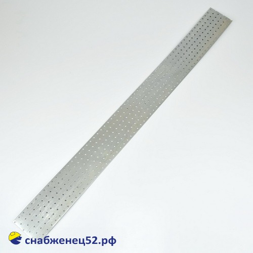 Пластина монтажная 120*1200*2мм оцинк.