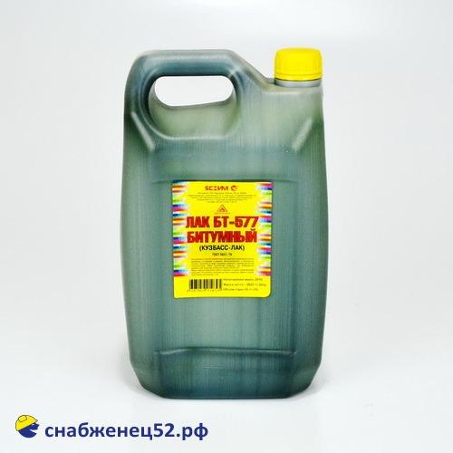 Лак битумный БТ-577 (5л)