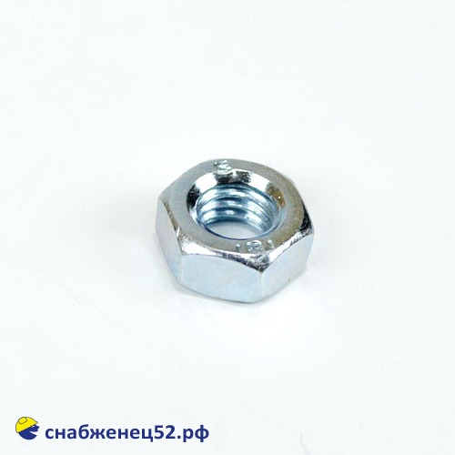 Гайка цинк М 6 (DIN 934)