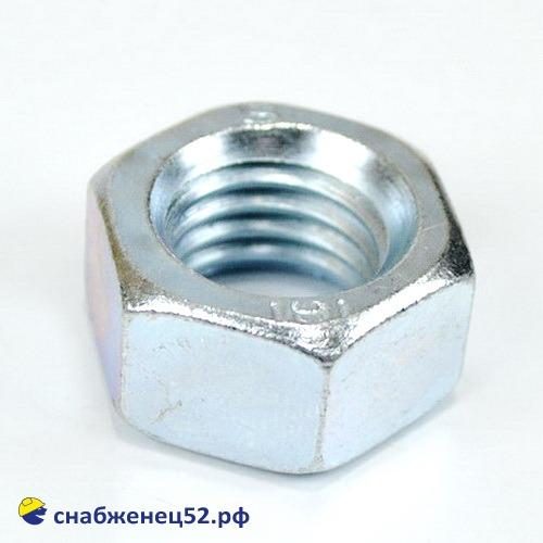 Гайка цинк М18 (DIN 934)
