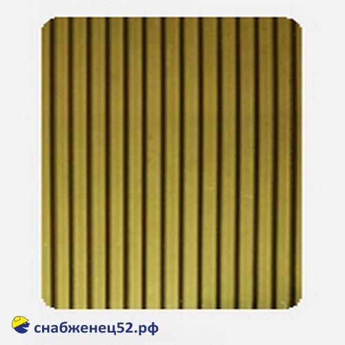 Поликарбонат  4мм бронзовый (ш.2,1м), п.м.