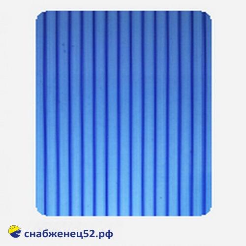Поликарбонат  4мм синий (ш.2,1м), п.м.