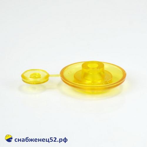 Термошайба 4мм жёлтый