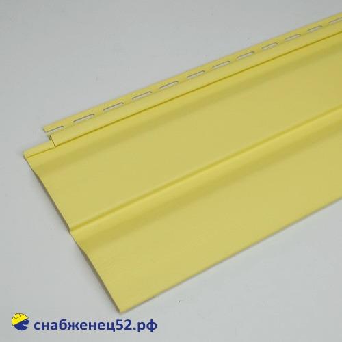 Сайдинг виниловый 3,6*0,226м. жёлтый