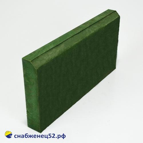 Бордюр полимерпесчаный 500*250*50 зелёный