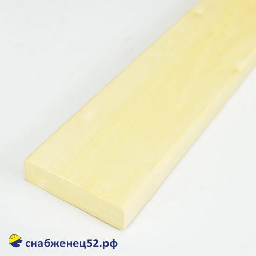 Липа полок сорт А 27*92*2500 мм