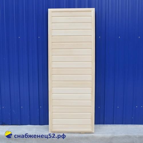 Липа дверь банная глухая 1800*700 мм