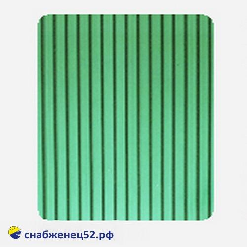Поликарбонат  4мм зелёный (ш.2,1м), п.м.