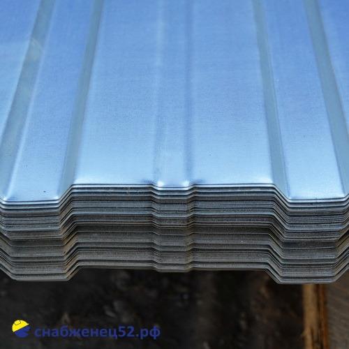 Профнастил С-10 0,35мм (2,0м) (шир. 1,18м), Zn, Grand Line