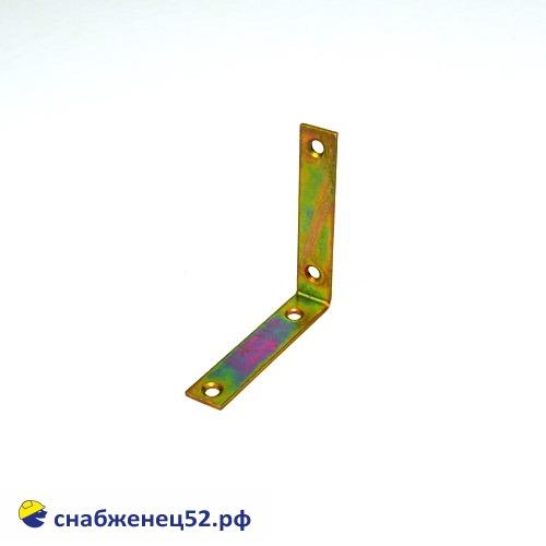 Уголок узкий 75*75*17*2мм (желтопассивированный)