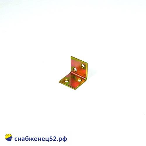 Уголок широкий 30*30*30*2мм (желтопассивированный)