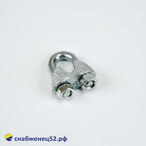Зажим для стальных канатов М6 (DIN741)