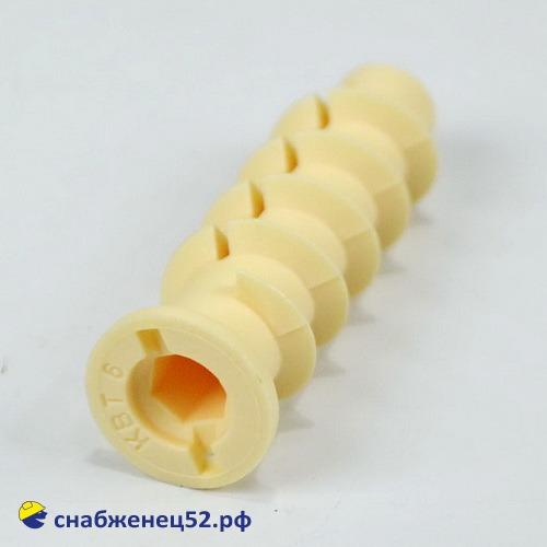 Дюбель для газобетона 10*50, нейлон (тип КВТ-6)