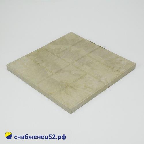 Плитка полимерпесчаная тротуарная (большая) 450*450*25мм серая