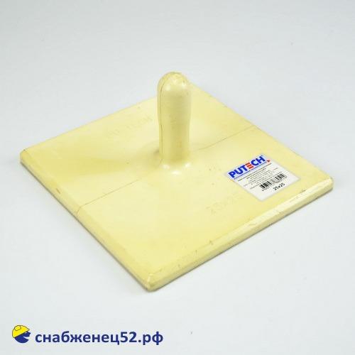 Терка полиуретановая для потолочных работ 250*250мм