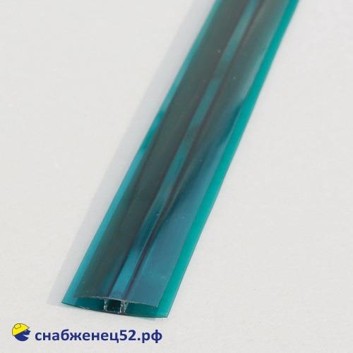 Профиль НР  4-6мм*6м  соединит. зеленый