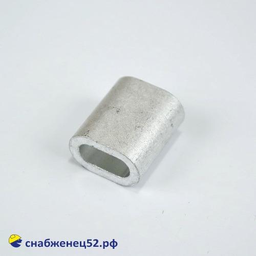 Зажим троса алюминиевый М6