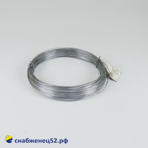 Проволока (ЦИНК) 1,2мм (1кг) низкоуглерод. сталь, т/о