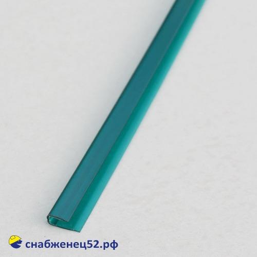 Профиль UР торцевой  4мм*2,1м зеленый