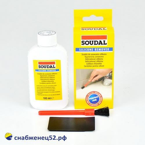 Удалитель силикона SOUDAL Silicone Remover 100мл