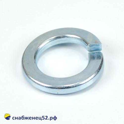 Шайба гроверная пружинная 16 мм (DIN 127 ZN)
