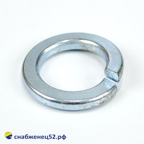 Шайба гроверная пружинная 18 мм (DIN 127 ZN)