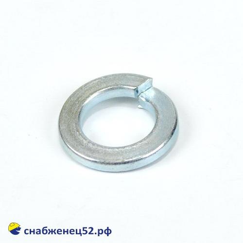 Шайба гроверная пружинная 12 мм (DIN 127 ZN)