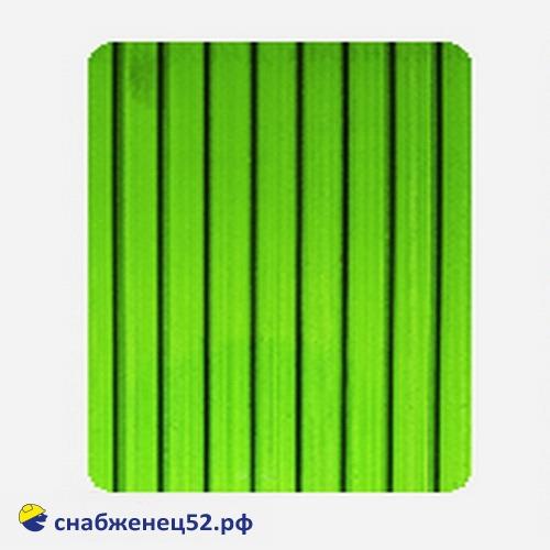 Поликарбонат  4мм GREEN (ш.2,1м), п.м.