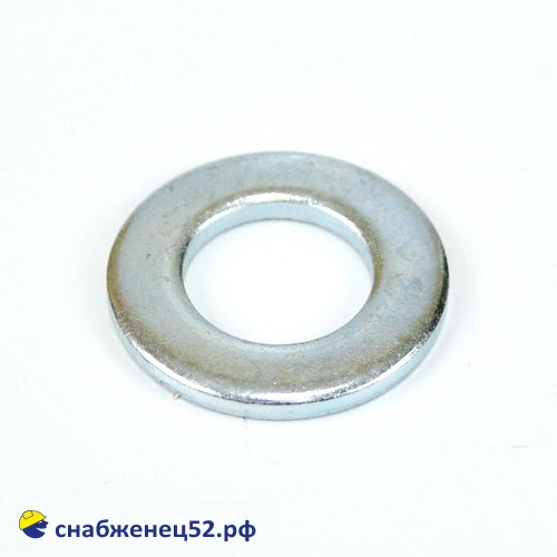 Шайба плоская 12мм (DIN125 Zn)