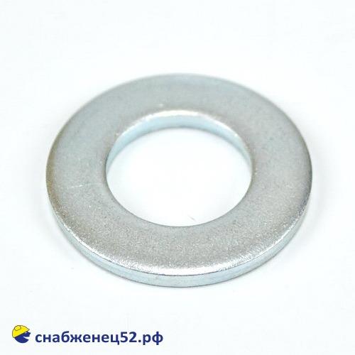 Шайба плоская 14мм (DIN125 Zn)