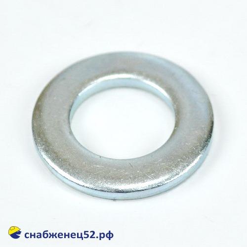 Шайба плоская 16мм (DIN125 Zn)
